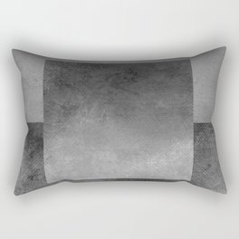 Square Composition XII Rectangular Pillow