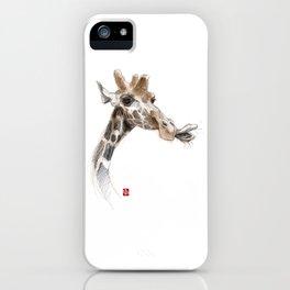Sketchy Girafe iPhone Case