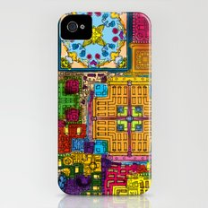 Colourful collage iPhone (4, 4s) Slim Case