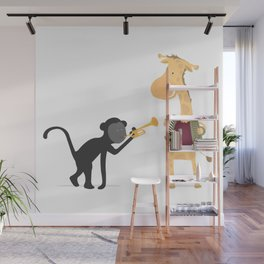 La musique des animaux Wall Mural