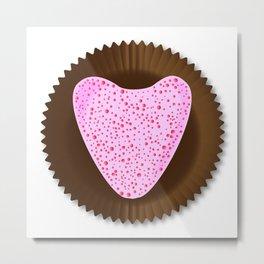 Chocolate Box Heart Metal Print