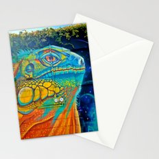The Chameleon Wall Stationery Cards