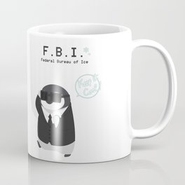 Federal Bueau of Ice Coffee Mug