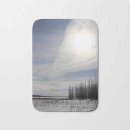 big prairie sky Bath Mat