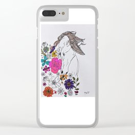 run away, spirit Clear iPhone Case