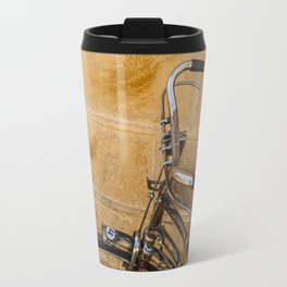 Golden Bicycle, India Travel Mug