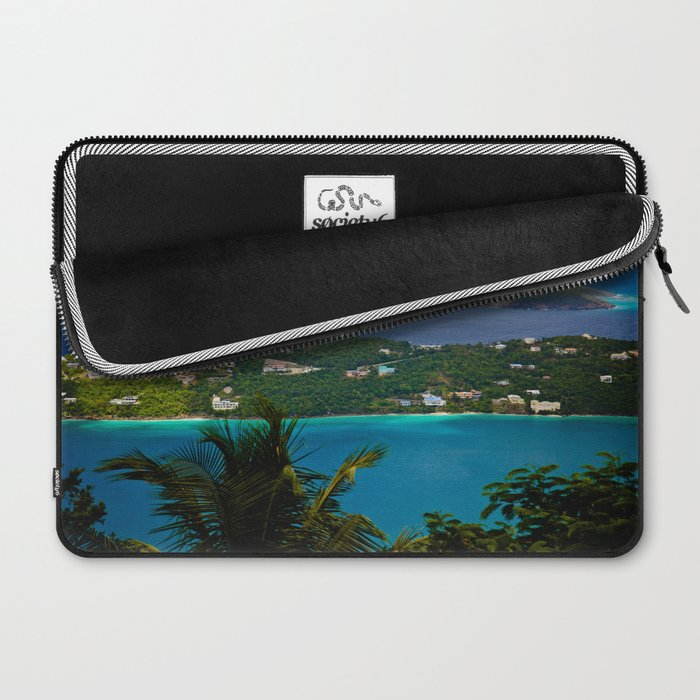 Virgin Islands Laptop Sleeve