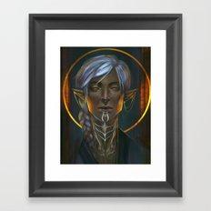 Emerald Knight Framed Art Print