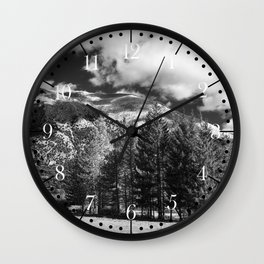 Abruzzo National Park, Italy Wall Clock