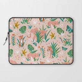 Endangered Wilderness - Blush Pink Laptop Sleeve