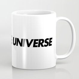 Command the universe (white) Coffee Mug
