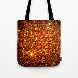 Copper Sparkle Tote Bag