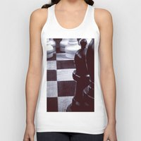 chess Tank Tops featuring Chess Perspective by Thick Paint Works