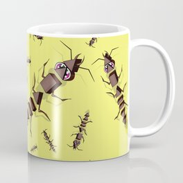 Ants erase and rewind Coffee Mug