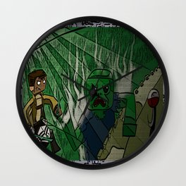 Shingeki no Minecraft (Minecraft into Shock/Minecraft Advance) - Attack on Minecraft Wall Clock