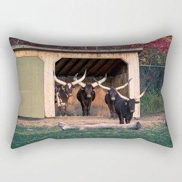 The bulls Rectangular Pillow