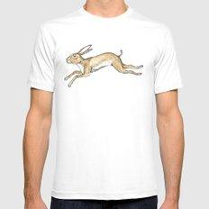 Spring rabbit White Mens Fitted Tee MEDIUM