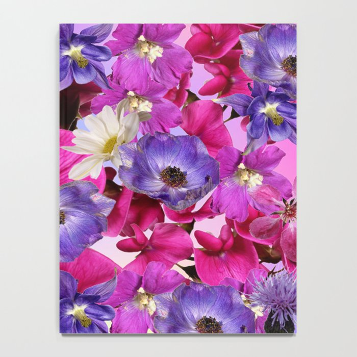 The Joy Of Spring Flowers Notebook