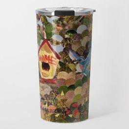 """"""" Bluebird Home """" Travel Mug"""