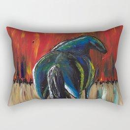 War Horse Rectangular Pillow