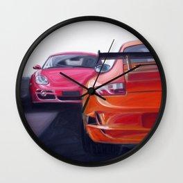 Porschemotion Wall Clock