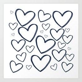 Heart Works Art Print