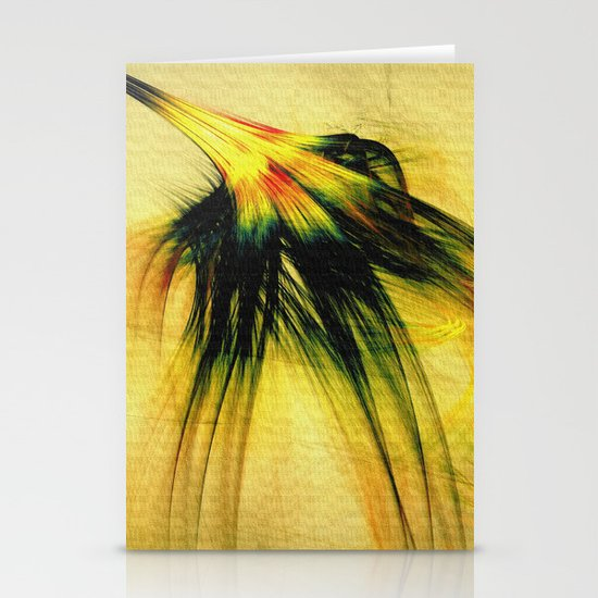 Flower in the Wind 2 Stationery Cards