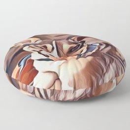 The Bandana Dog Floor Pillow