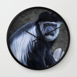 Animals: Colobus Wall Clock