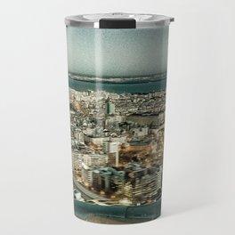Lisbon sky view Travel Mug