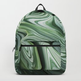 Sinking in Green Backpack