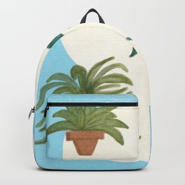 Potted Plants and Garden Care Backpack