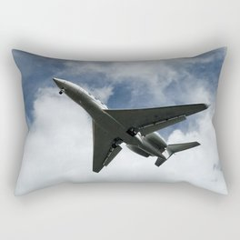 Silhuette of an aircraft Rectangular Pillow