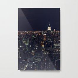 Nightlights Metal Print