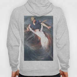 Fisherman and the Siren by Knut Ekwall Hoody