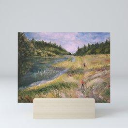 childhood-1 Mini Art Print
