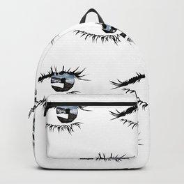 Eye Print Backpack