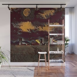 Harvest Moon Wall Mural