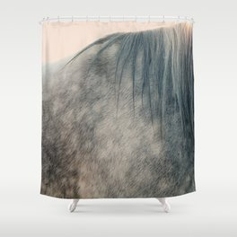 Standing In The Sun Shower Curtain