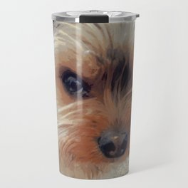 Yorkie   Dogs   Terrier   Pets   Humor   What!?! (with text) Travel Mug
