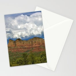 Monsoon Clouds over Sedona by Reay of Light Photography Stationery Cards