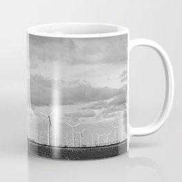 Wind Turbines 4 #blackwhite Coffee Mug