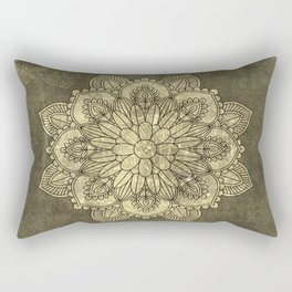 Wonderful mandala Rectangular Pillow