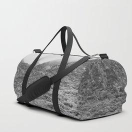 Fog mountains Duffle Bag