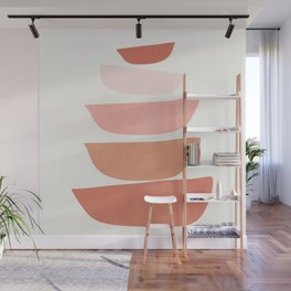 Abstract Minimal Shapes IV Wall Mural