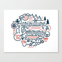tennessee Canvas Prints featuring Tennessee by Matt Lehman