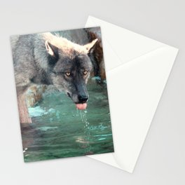 Thirsty Like the Wolf Stationery Cards