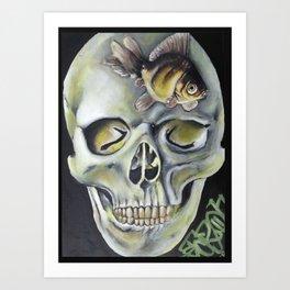 aquatic horror Art Print