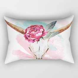 Animal Skull 05 Rectangular Pillow