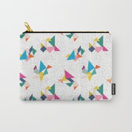 Deconstructed Tangrams Carry-All Pouch